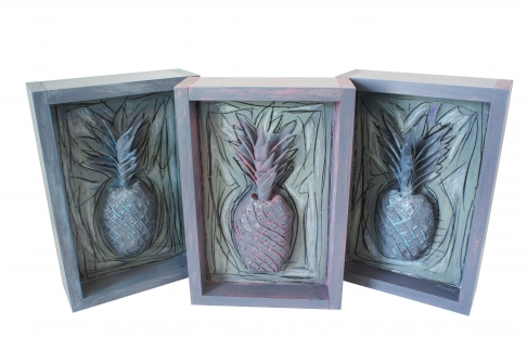 Pineapple 80-82 (Set of 3)