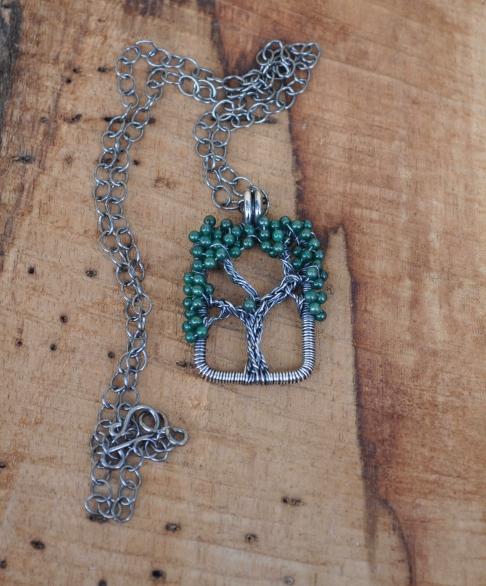 Jade Live Oak Necklace