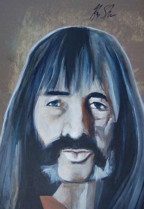 AUTOGRAPHED portrait of Harry Shearer - Spinal Tap