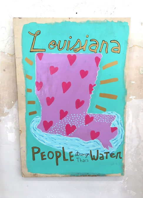 Louisiana: People Stronger than Water - Print