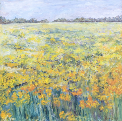 Field of Yellow Flowers  IV