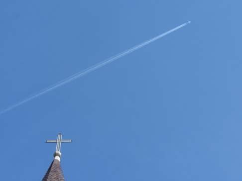 Crossing Plane, St. Louis Cathedral