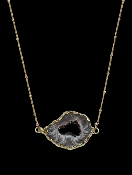 Horizontal Oil Spill Necklace