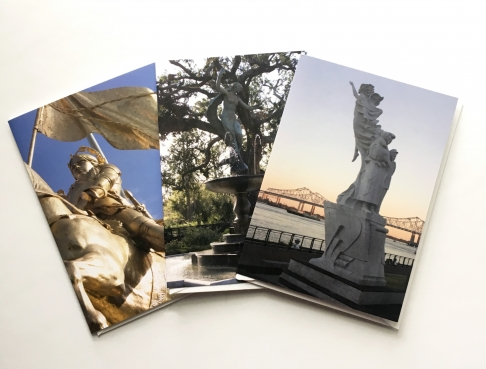 Statuesque New Orleans Photography Notecard Trio