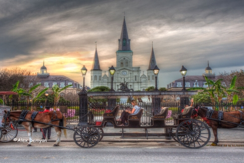Jackson Square Carriage