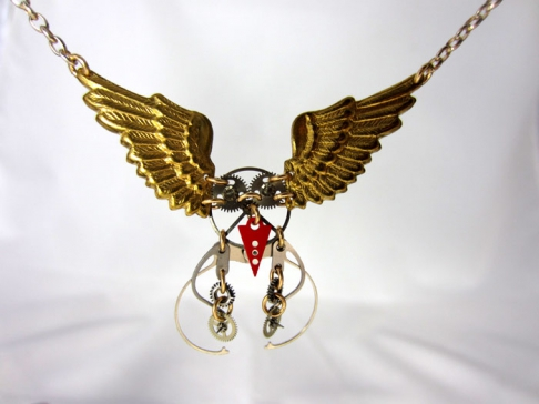 Kinetic Owl Necklace