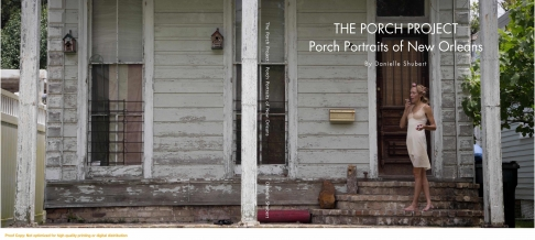 The Porch Project: New Orleans Porch Portraits, The Coffee Table Book