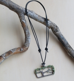Oak Tree Necklace - Freshwater Pearls