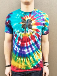 Limited Edition Where Y'Art Tie-Dye Crew Neck