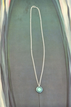 Aqua Dot Necklace