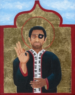 Black Chopin (James Booker) limited edition fine art print