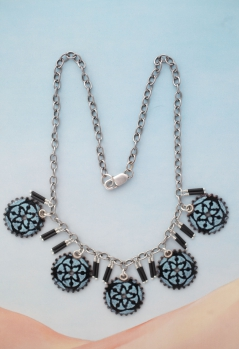 Clockwork Florence Necklace / reversible