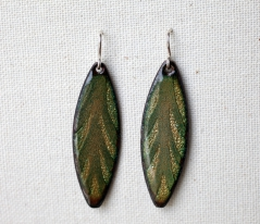 Spliff Leaf Earrings