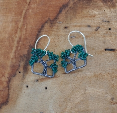 Glassbeads Live Oak Earrings