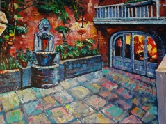 French Quarter Courtyard