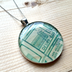 Arnaud's Map Necklace