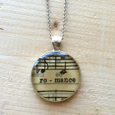 Musical Romance Pendant Necklace