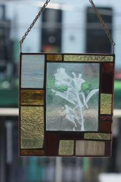 *Enverre Snapdragon Stained Glass