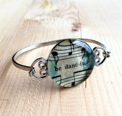 Be Dancing Sheet Music Bracelet
