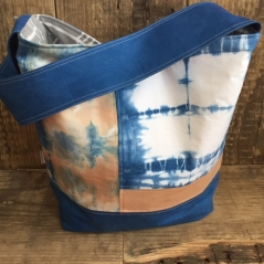 Hand Dyed Tote Bag