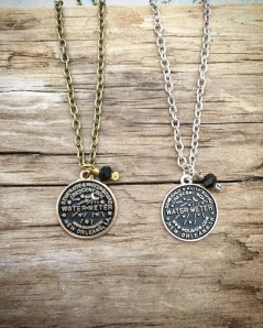 Small NOLA Water Meter Charm Necklace