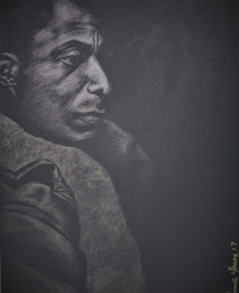 James Never a Negro (Barna Black silverpoint)
