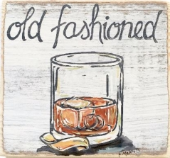 Old Fashioned Wood Art