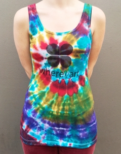 Limited Edition Where Y'Art Tie-Dye Tank