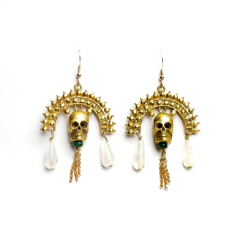 Baron Samedi Earrings