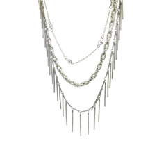 Flapper Fringe Necklace (extendable)