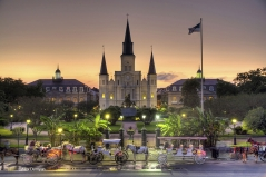 Jackson Square Twilight