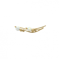 Opal Ear Bar / Pair