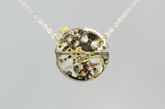 Skeleton Chrono Necklace