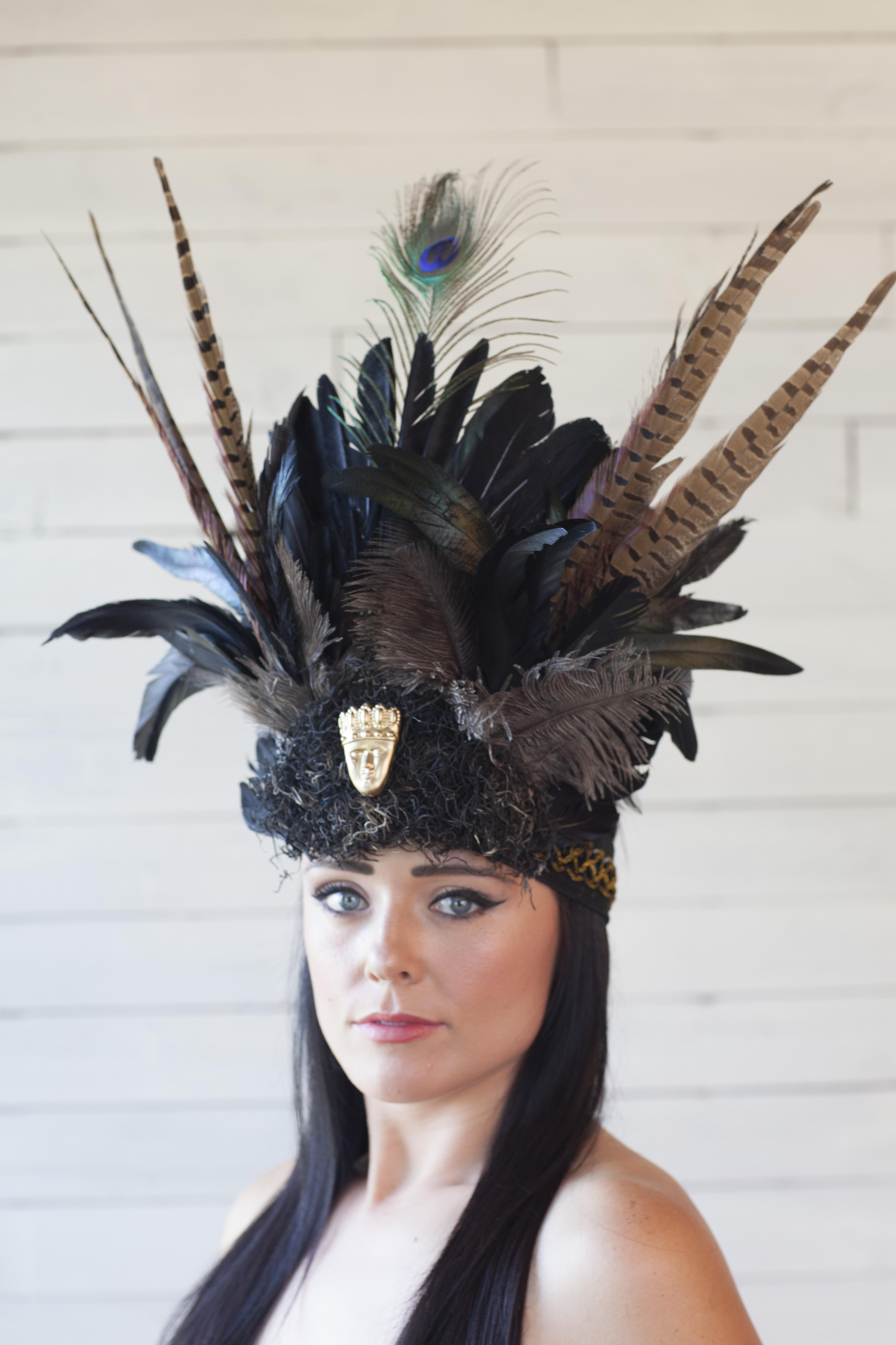 Zulu Warrior Headdress Where Y'art | Zulu Warrior