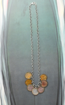 Double Sided Coin Necklace (Reversible) / Main Image
