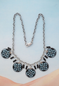 Clockwork Florence Necklace / reversible / Main Image