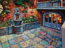 French Quarter Courtyard / Main Image