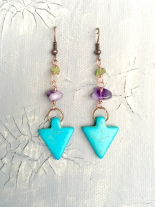 Tribal Earrings / Main Image