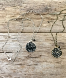 NOLA Water Meter Charm Necklace