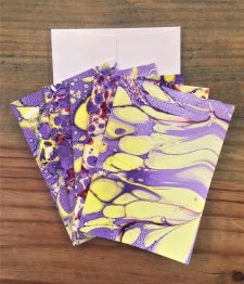 Handprinted Notecards_Set of Five / Main Image