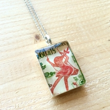 Tree Swing Stamp Necklace / Main Image