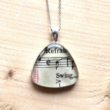 Swing Music Pendant Necklace / Main Image