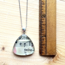 Swing Music Pendant Necklace
