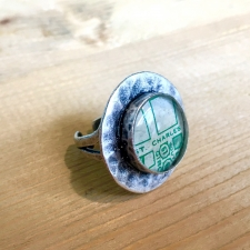 St. Charles Avenue Map Ring