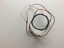 Fern Enverre Copper Wire Wall Sculpture