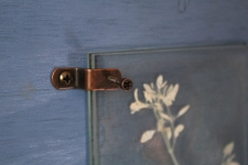 Detail of antique copper hardware