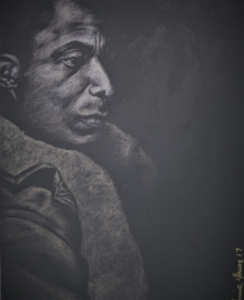 James Never a Negro (Barna Black silverpoint) / Main Image