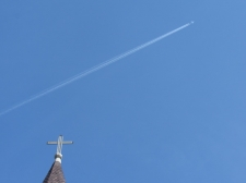 Crossing Plane, St. Louis Cathedral / Main Image