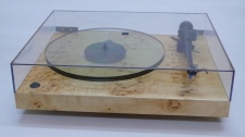 Audiowood El Blocko Turntable (Mappa Burl)