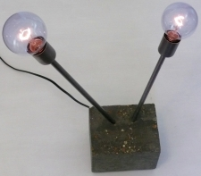 Concrete Accent Lamp